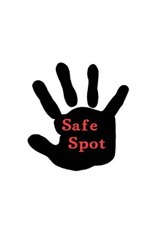 Decal// Sticker for vehicle Safe spot for kids to stand