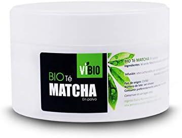 BIO Té Matcha en polvo 100g   100% ecológico   ViBIO