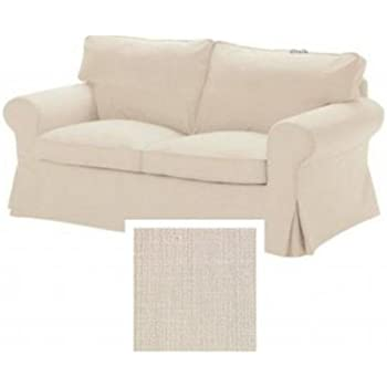 Amazon.com: IKEA EKTORP – Sofá cama Slipcover Svanby Beige ...