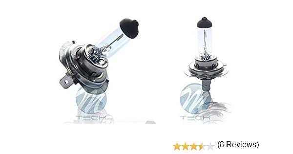 10 Bombillas (1 caja) Halógena H7 24V 70W PX26D E13: Amazon.es: Coche y moto