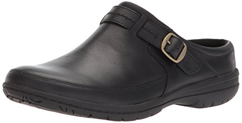 Merrell Women's Encore Kassie Buckle Slide Clog, Black, 7 Medium US Buckle Mule