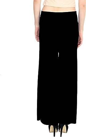 PI World Regular Fit Women's Black Trousers