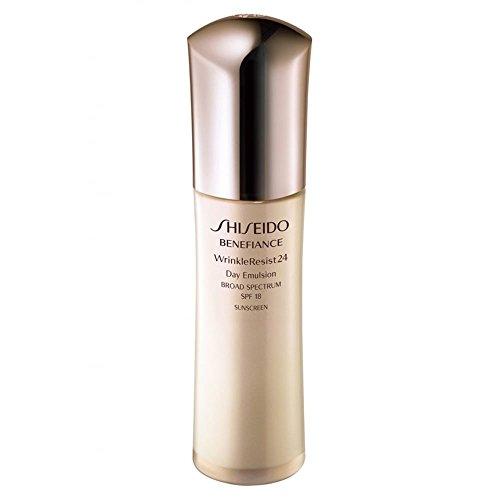 2.5 Ounce Emulsion (Shiseido/Benefiance Spf 18 Wrinkle Resist 24 Day Emulsion 2.5 Oz (75 Ml))