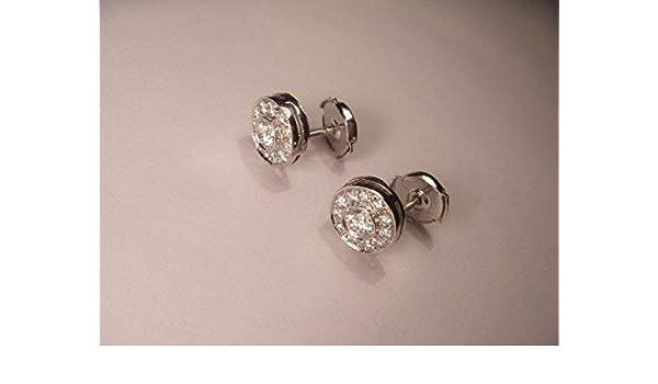 0a12a6406a07a Amazon.com: Fabulous Platinum Tiffany & Co. Diamond Stud Earrings ...
