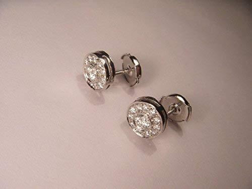 90ceec9099e33 Amazon.com: Fabulous Platinum Tiffany & Co. Diamond Stud Earrings ...