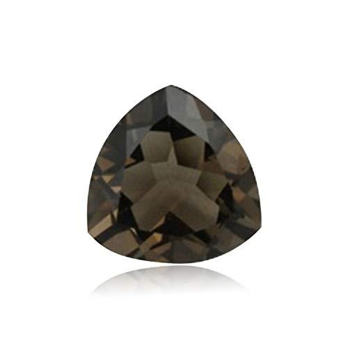 Mysticdrop 7.77-9.49 Cts of 14 mm AAA Trillion Cut Smoky Quartz (1 pcs) Loose Gemstones (Loose Cut Gemstones)