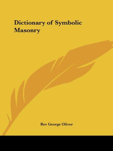 Dictionary of Symbolic Masonry