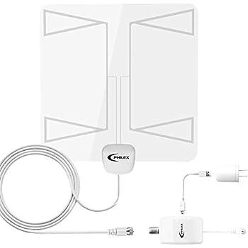Amazon Com Transparent Amplified Hdtv Antenna 2019 Latest Philex
