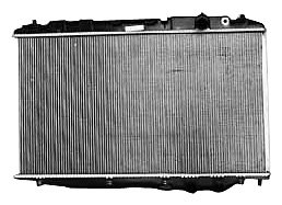 TYC 2926 Honda Civic 1-Row Plastic Aluminum Replacement Radiator
