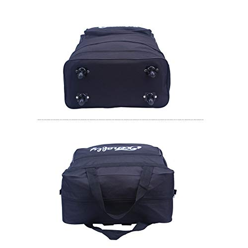15ed31fef69f MZTYX Us Ultra-Light Checked Baggage Foldable Suitcase, Checked Baggage  Outdoor Expandable Carry-on Bag Casual Universal Wheel Travel ...