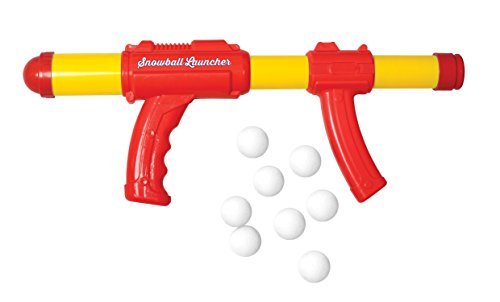 Snowball Fight Launcher Shooter Ball - Epic Snowblaster With Target And 8