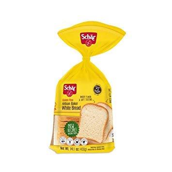 Schar Gluten-Free Artisan Baker White Bread 14.1 Ounce (6 Pack) by Schar