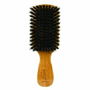BASS 100% Pure Wild Boar Bristle Mens Brush 153 by Bass Brushes