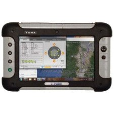 Trimble Navigation - YMA-FGS8AS-00 - Trimble Yuma Net-tablet PC - 7 - Intel Atom Z530 1.60 GHz - Gray, Black - 1 GB RAM - 80 GB SSD - Windows 7 Professional - Slate - 1024 x 600 - Bluetooth ()