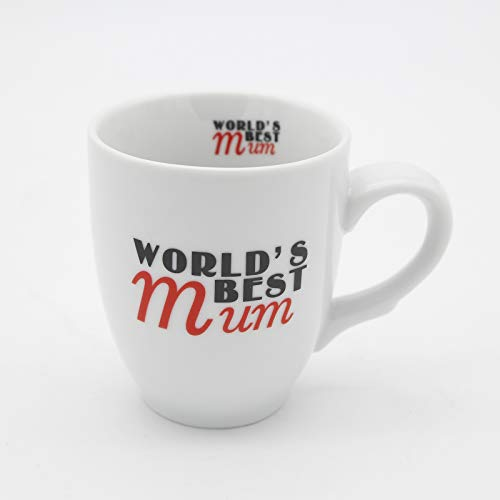 World Best Mum Ceramic Coffee Cup Water Juice Cup Mugs Drink Cup for Mother's Day Gift (World Best Mum)