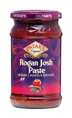 Patak's Original Rogan Josh Curry Paste (medium) - 10oz