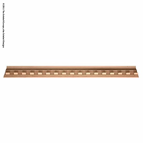 """3 5/8""""H X 3 3/4""""D Crown At 45 Degree Angle (2 1/2"""" Repeat) Molding Dentil Crown 8"""