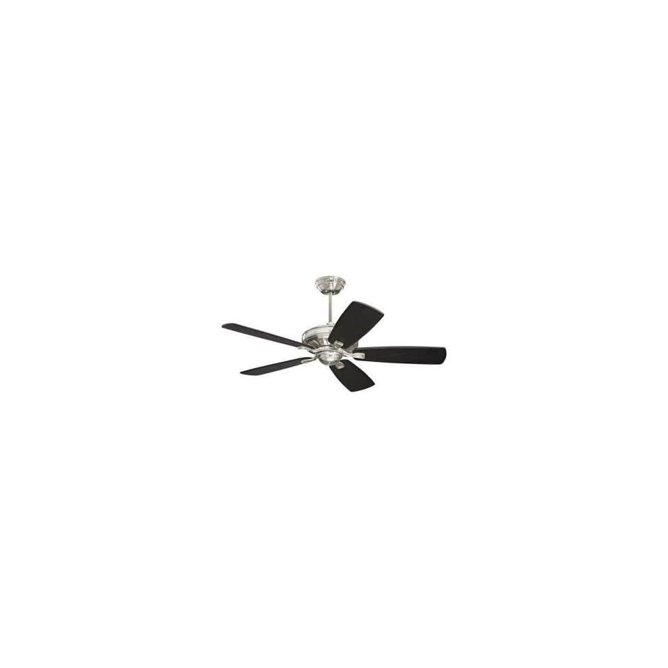 60 Emerson Carrera Grande Brushed Steel Ceiling Fan