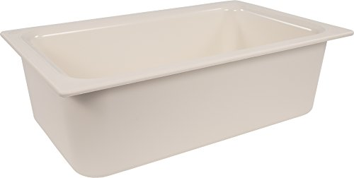 Carlisle CM110002 Coldmaster Food Pan 1/1-Size, Plastic, White by Carlisle