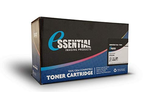 Essentials Compatible Black Toner Cartridge for HP Laserjet 2300 Series (Alternative for Q2610A, HP 10A) (6000 Page Yield) ()