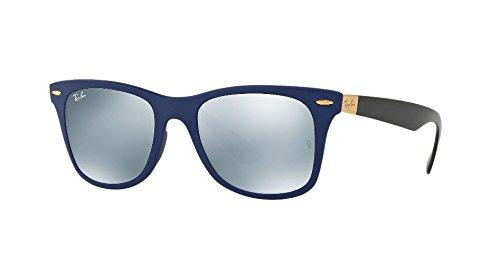Ray-Ban WAYFARER LITEFORCE - MATTE BLUE Frame GREY FLASH Lenses 52mm - Liteforce Ray Ban