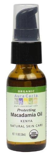 Aura Cacia Organic Skin Care, Protecting Macadamia Oil, 1 Fluid Ounce