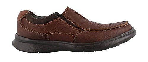 Casual Flat Men Shoes (CLARKS Men's Cotrell Free Loafer Tobacco Leather 10.5 Medium US)
