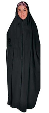 Egypt gift shops Full Length Islamic Overhead Black Khimar Abaya Dress