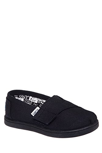 Toddler TOMS 'Classic - Tiny' Slip-On, Size 7 M - Black