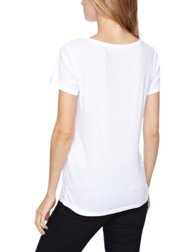 O'Neill - Camiseta con estampado de manga corta para mujer Blanco (Super White)