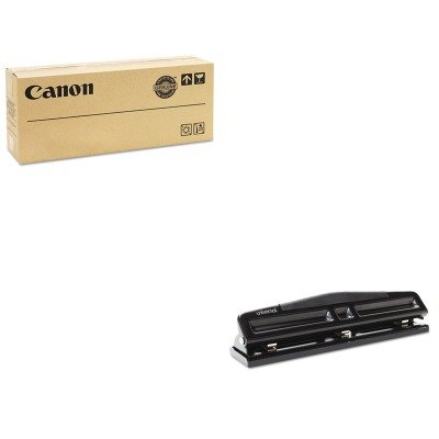 KITCNM3630B003AAUNV74323 - Value Kit - Canon 3630B003 PF04 Printhead (CNM3630B003AA) and Universal 12-Sheet Deluxe Two- and Three-Hole Adjustable Punch (UNV74323)