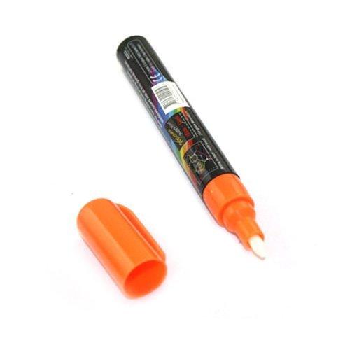 DTOL DTOL-SHUS1285 Wet Liquid Chalk Neon Marker Pen 8 Color Pack Dry Erase (8 Color)