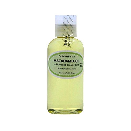 4 fl.oz Macadamia Nut Organic Oil Cold Pressed Undiluted