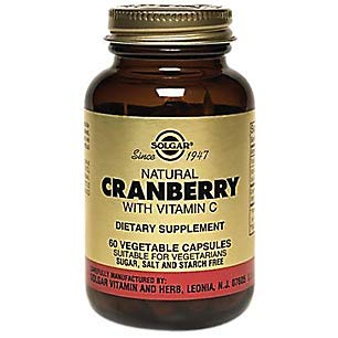 Solgar - Cranberry Extract With Vit C, 60 veggie caps