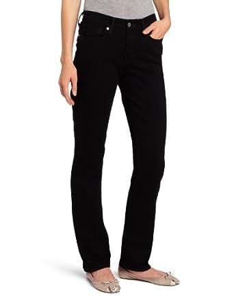 Levi's Women's 525 Straight Leg Perfect Waist Jean, Black Ink, 6 Medium