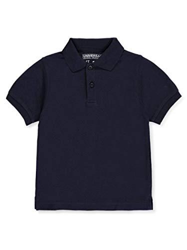 Universal School Uniform Baby Boys Short Sleeve Pique Polo Navy Blue Size 3T