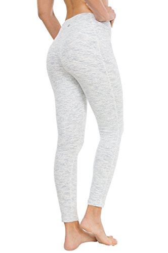 980505e102 Queenie Ke Women Yoga Leggings Nine Pants Power Flex Mid-Waist Gym Running  Tights Size