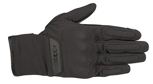 C-1 v2 Women's Gore Windstopper Motorcycle Glove (Medium, Black)