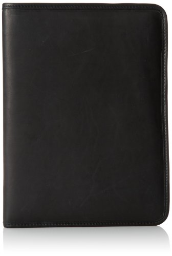 Jack Georges Letter Size Wrting Pad, Black, One Size by Jack Georges