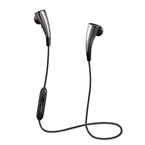 Inateck Bluetooth In Ear Sports Headphones, Magnetic Wireless Earbuds, Waterproof Earphones with Built-in Mic, support aptX, works with iPhone 7 Plus, iPad, Samsung Galaxy, Nexus, HTC, and More