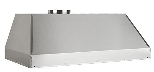 Liner 600 Cfm Stainless Steel - Vent-A-Hood BH234SLD SS 600 CFM Wall Mount Liner Insert, SS/34-3/8