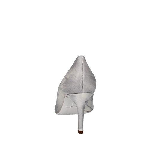Dei Mille Pumps Damen Grau Glänzendem Leder AJ283 (35 EU)