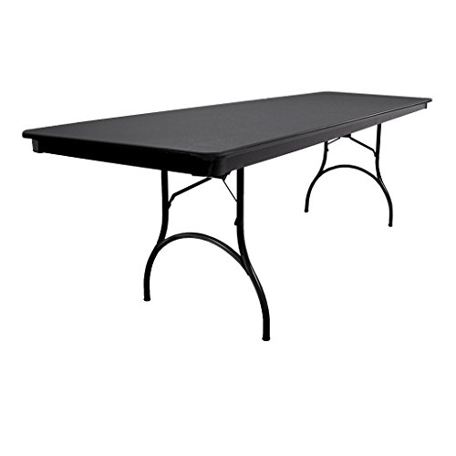 Superb Mitylite 30X96 Rectangular Abs Folding Table Black Buy Interior Design Ideas Gentotryabchikinfo