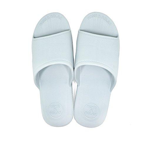 Damen Hausschuhe und Pool leichte für EVA Herren Mules blau Sandale Soft Strand Slide Shower für KENROLL Summer grau rutschfeste w0pq4Rq6