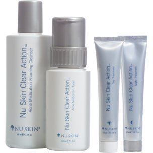 Nu Skin Clear Action Acne Medication System