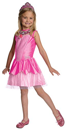 Barbie in The Pink Shoes Halloween Sensations Kristyn Costume, Small