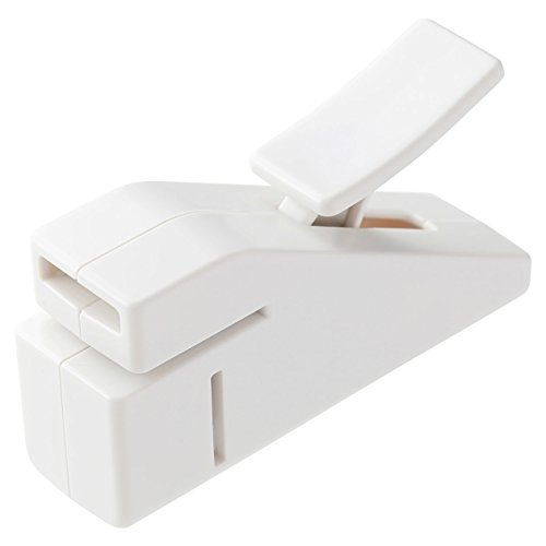 MUJI Stapleless Stapler White