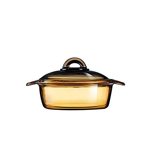 Luminarc Vitro Blooming Heat-resistant Glass Cooking Pot (1.5L)