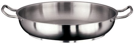 (Paderno World Cuisine 11115-36 Paella Pan Stainless Steel)