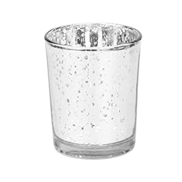Amazon De Trifycore Kerzen Mosaik Glas Teelichthalter Fur Hochzeit